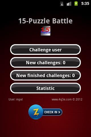 15-Puzzle Battle