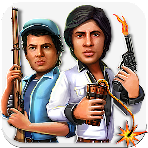 Cover art Sholay: Bullets of justice
