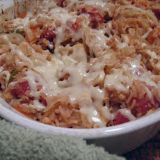 Fat-Free Cabbage-Rice Casserole