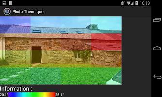 Screenshot of Thermal Photo