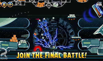 Screenshot of Angry Birds Star Wars