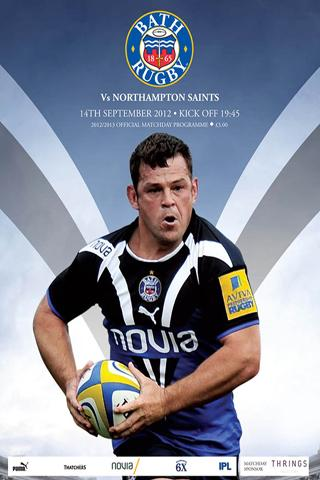 Bath Rugby Official Programmes