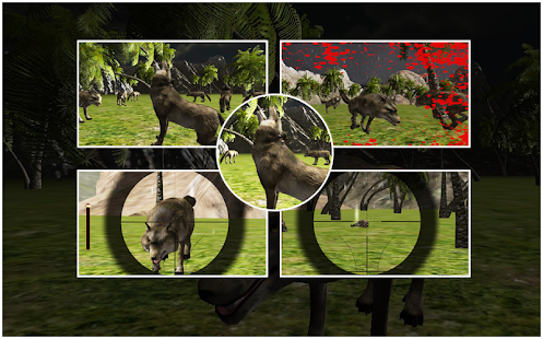 Wild Wolf Shooting - screenshot