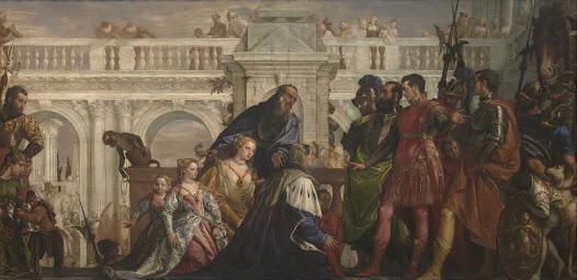 Veronese Paolo, Famiglia di Dario
