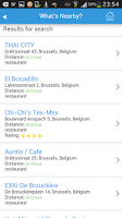 Screenshot of Brussels Guide Map Hotels Trip