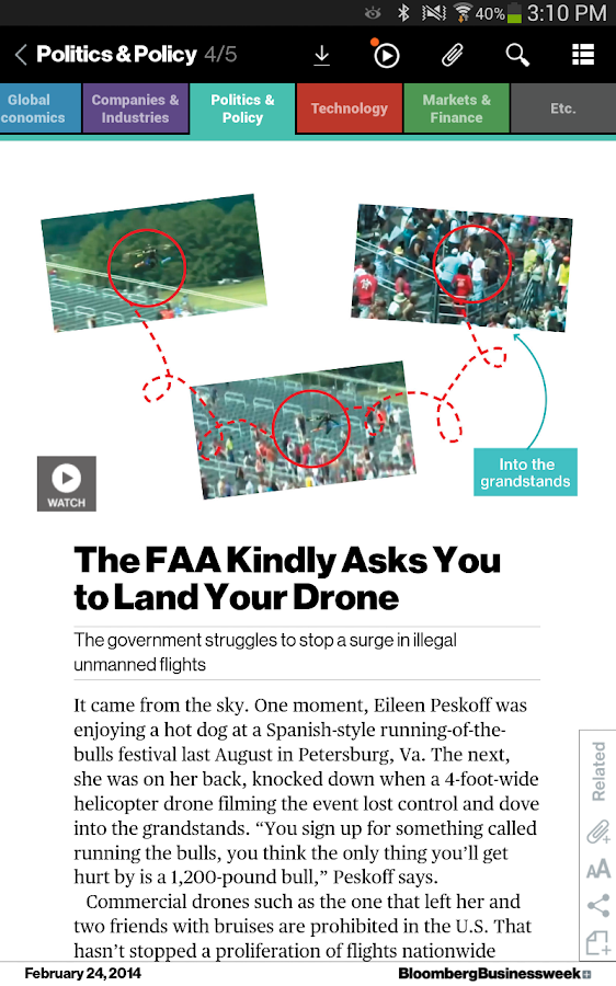 Bloomberg Businessweek+ Screenshot 13