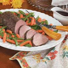 Beef Tenderloin with Balsamic Sauce