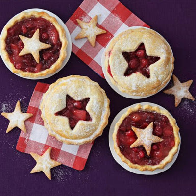 Cranberry & Pear Pies