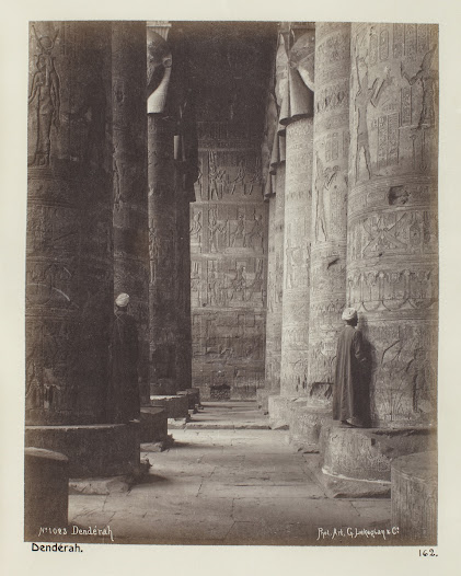 A temple in Dendera.
