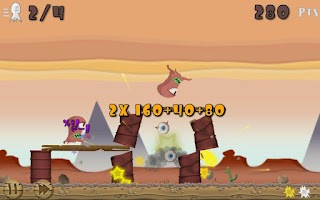 Screenshot of Fruit Rocks Free