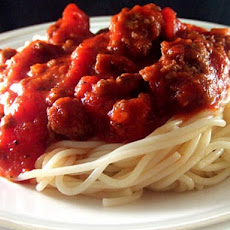 Slow Cooker (Crock Pot) Spaghetti Sauce With Marvelous Meatballs