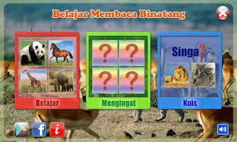 Screenshot of Belajar Membaca Binatang