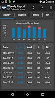 Screenshot of Calorie Counter -FDDB Extender