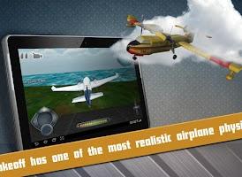Screenshot of Free Flight Simulator Takeoff