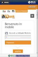 Screenshot of BCC MOBILE BANKING