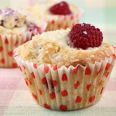 Sugar-Crusted Raspberry Muffins