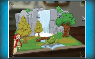 Screenshot of Grimm's Red Riding Hood