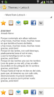 Screenshot of Todo Poemas Free (Spanish)
