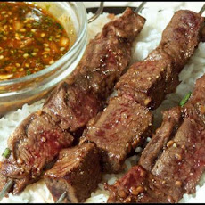 Asian Beef Skewers - 3 Points