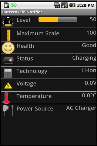 Battery Life Notifier