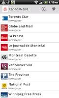 Screenshot of Canada Newspaper