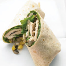 Chicken, Mushroom, and Goat Cheese Burritos
