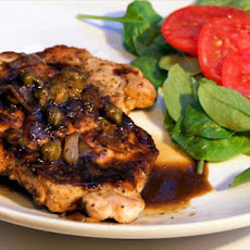 Pork Chops With Maple Mustard Sauce