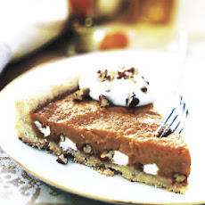 Sweet Potato Tart with Pecans and Marshmallows