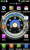 Screenshot of AstroClock