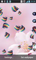 Screenshot of Magical Rain Live Wallpaper