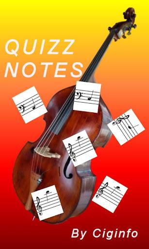 Quizz Notes