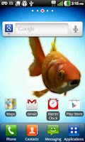 Screenshot of Fresh Fish Live Wallpaper