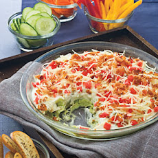 Layered Lima Bean Dip