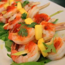 Rum and Brown Sugar–Glazed Shrimp Recipe