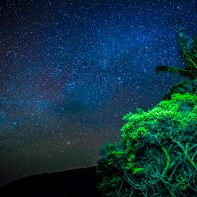 Mustique sky by Claudiu Bichescu - Landscapes Starscapes (  )