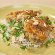 Almond Curry Chicken