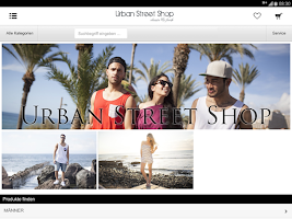 Screenshot of Urban Street Shop