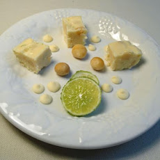 Lime and Macadamia Fudge