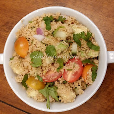 Couscous Avocado Tomato Salad