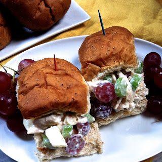 Lightened Up Chicken Salad Sandwiches