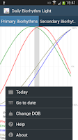Screenshot of Daily Biorhythm Light