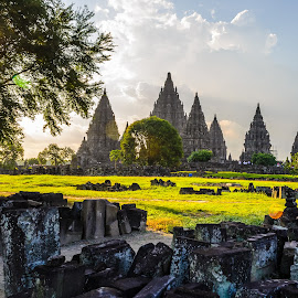 Prambanan by Adityo Cahyo - Buildings & Architecture Public & Historical ( history, temple, indonesia, candi, photographer, architecture, nikon, photo, prambanan, photography )