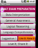 Screenshot of MBA: NMAT CAT IIFT AIMA MAT