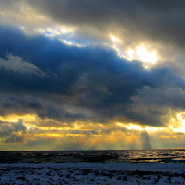 Natures Beauty by IS Photography - Landscapes Cloud Formations ( clouds, sky, winter, colors, sunset, beach )