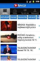 Screenshot of TN.cz