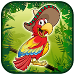 The flappy happy parrot APK Image