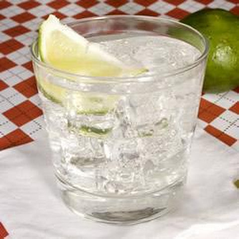 Gin And Tonic With Lime