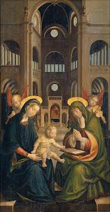 RIJKS: Defendente Ferrari: painting 1528