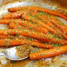 Roasted Baby Carrots with Marmalade Recipe