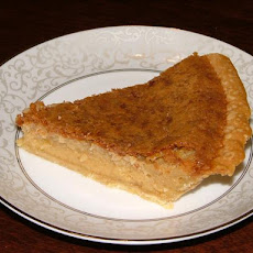 Old-timey Kentucky Chess Pie